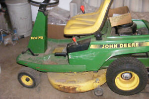 WANTED: RX 75 John Deere for Parts