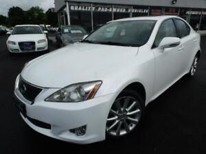 2009 Lexus IS 250 AWD NO ACCIDENTS,ONTARIO CAR,DEALER MAINTAINED