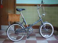 Vintage mistral 3 speed shopper bike