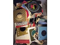 Records disco audios huge collection - full suitcase of records