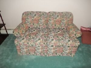 Tapestry Chesterfield and Loveseat