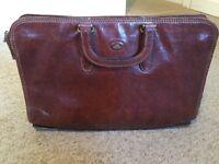 The Bridge Vintage Leather Briefcase