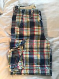 Abercrombie and Fitch Checked Board Shorts