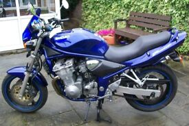 suzuki bandit 600 ,2000 model , low mileage,very good condition for age ,ride away ready to go