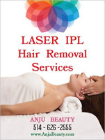 Laser IPL Hair Removal Services