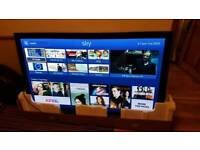 "65"" Panasonic plasma flat panel TV"