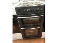 Black belling cooker double oven £119 can deliver