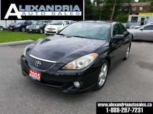 2005 Toyota Camry Solara SE leather sunroof safety included