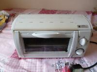 Mini Electric Oven white