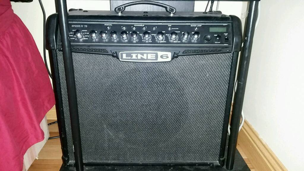 Line6 Spider IV 75 watt amp