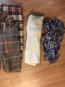 Fall is coming ! Lot of scarves