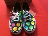 Vans (New With Tags) Macaroon Print Shoes - UK Size 4
