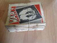 War Illustrated magazines.