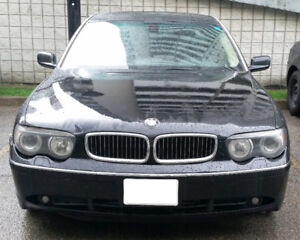 2005 BMW 7-Series mint condition power comfort luxury