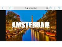 2x Amsterdam Flights - weekend of 9th-11th Sep 17