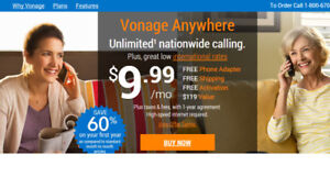 Unlimited Calls With Vonage [FREE PHONES + GIFT CARDS]