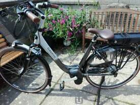 Gazelle orange c8 hm electric bike