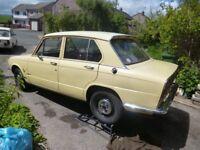 triumph toledo, classic car, built in 1976