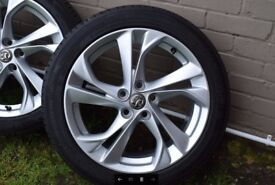 Vauxhall Alloy Wheels for Vauxhall Astra 2015> or other Vauxhall with Michelin Tyres!