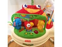 Fisher-Price Rainforest Jumperoo in Excellent Condition