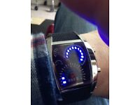 Led speedo/Tacho watches.
