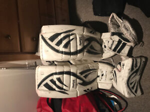 Used Goalie Hockey Gear
