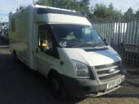 Ford Transit ambulance 3.2 tdci 200 Bhp 2008 08 Reg Just of service with Nhs Sco
