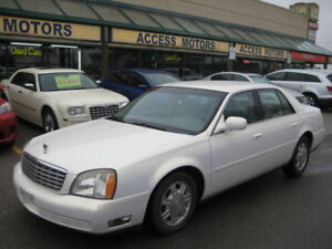 """2004 Cadillac DTS, Fully Loaded """" UNBEATABLE PRICE"""" Clean"""
