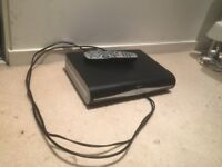 Sky +HD box, remote and cables.