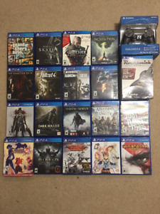 PS4 Controller GTA5 Uncharted4 Witcher3 MGS5 Diablo Fallout4