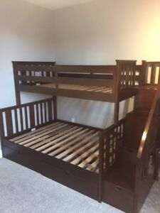 BUNK BEDS w/STAIRS
