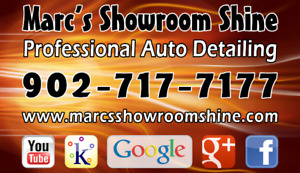 Auto Detailing ~ PROFESSIONAL and MOBILE 902-717-7177