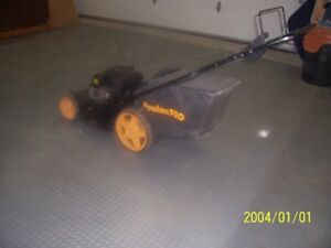 "Poulan Pro 21"" self-propelled mower"