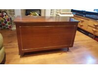 Vintage Retro Style Large Wooden Ottoman Blanket Box Toy Box Coffee Table Chest Seat