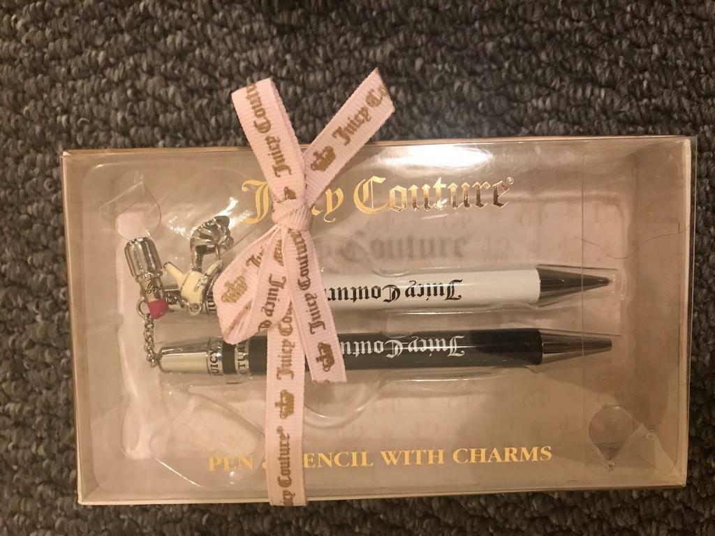 Juicy couture pen and pencil set