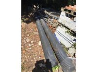 Large drainage pipes