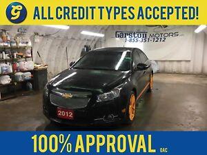 2012 Chevrolet Cruze LT RS TURBO*KEYLESS ENTRY w/REMOTE START*K&
