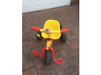Kids Fireman Sam trike for sale