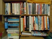 70 PAPERBACK BOOKS/NOVELS, READING, POPULAR AUTHORS GD CONDITION