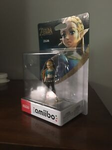 Brand new in Box BoTW Zelda Amiibo