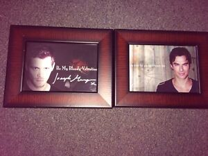 Ian Somerhalder and Joseph Morgan Hand Signed Photos