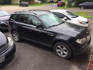 2007 BMW X3 tow package $4,500 FIRM