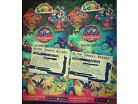 4x Alton Towers/Cbeebies Land ANY DAY tickets no booking required