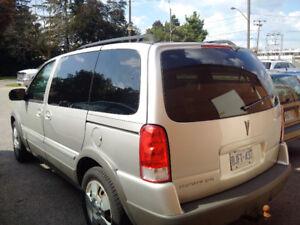 2009 Pontiac Montana w/1SA Minivan, Van