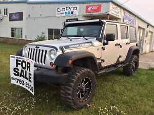 Lifted 2008 Jeep Wrangler 4X4 Rough Country