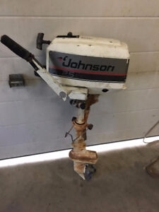 2.5 HP Johnson Outboard