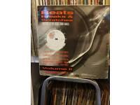 DJ scratch vinyl old school breaks and scrstches