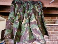 Combat camoflage army military jacket good for camping