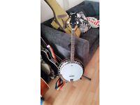 Ozark 2104T Tenor Banjo