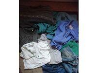 Mens clothes bundle medium size